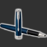 Personalised Parker Sonnet Blue Rollerball Pen