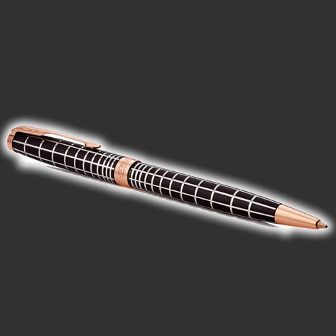 Parker Sonnet Brown Rubber Ballpoint Pen