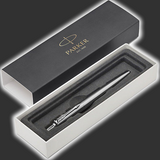 2 Personalised Stainless Steel Parker Jotter Pens