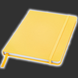 Yellow Notebook - A6 or A5 Size