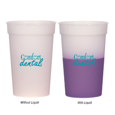 Color Changing Stadium Cup (Pack of 100)