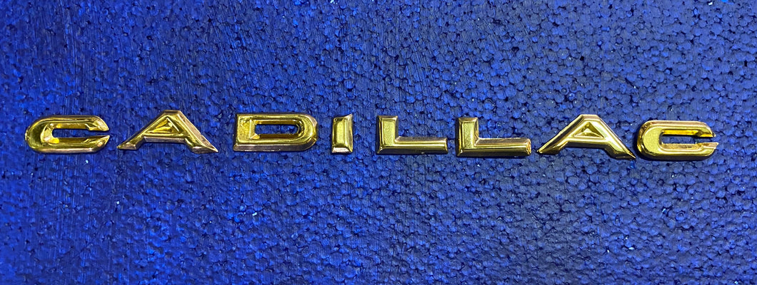 1958 Cadillac Tail Fin Letters