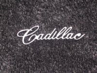 "1963 and 1965 ""Cadillac"" Dash Script"