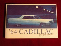 1964 Cadillac Owner's Manual