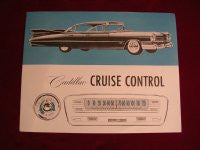 1959 Cruise Control Booklet