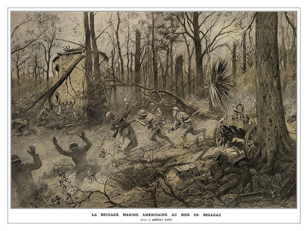 1st Battalion 6th Marines at Belleau Wood