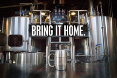 Beer is brewed in stainless steel drums - it should be served in stainless steel as well. Bring your beer home by drinking it from a Man Mug.