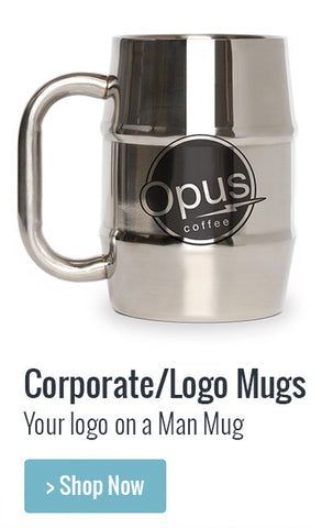Corporate Logo Engraved Mug
