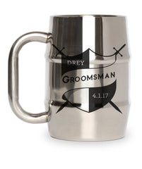 Groomsman Gift Shield and Crossed Swords