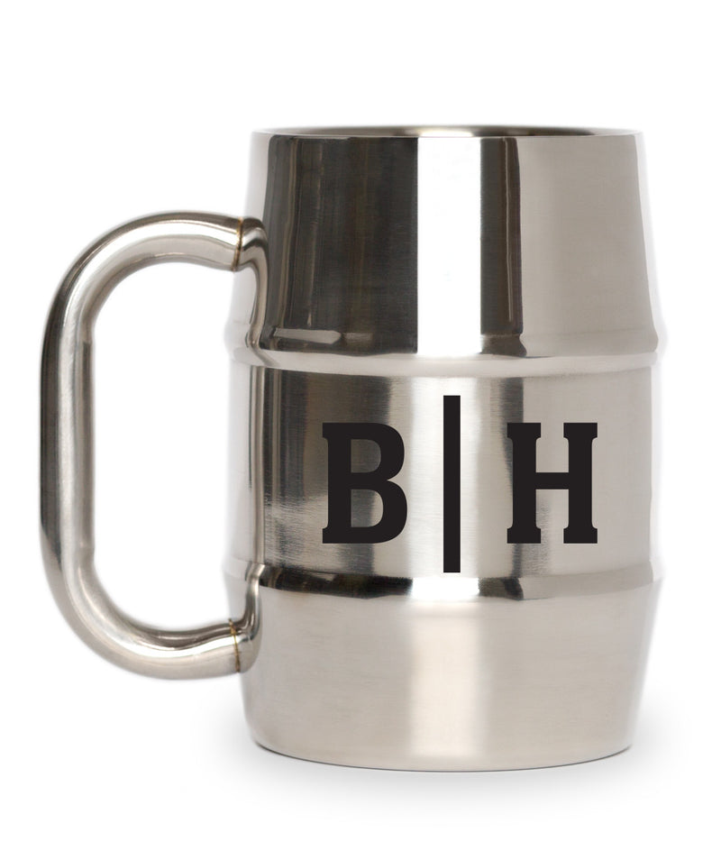 First and Last Initials Mug