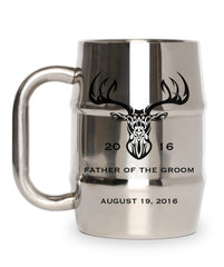 Tribal Deer Groomsman