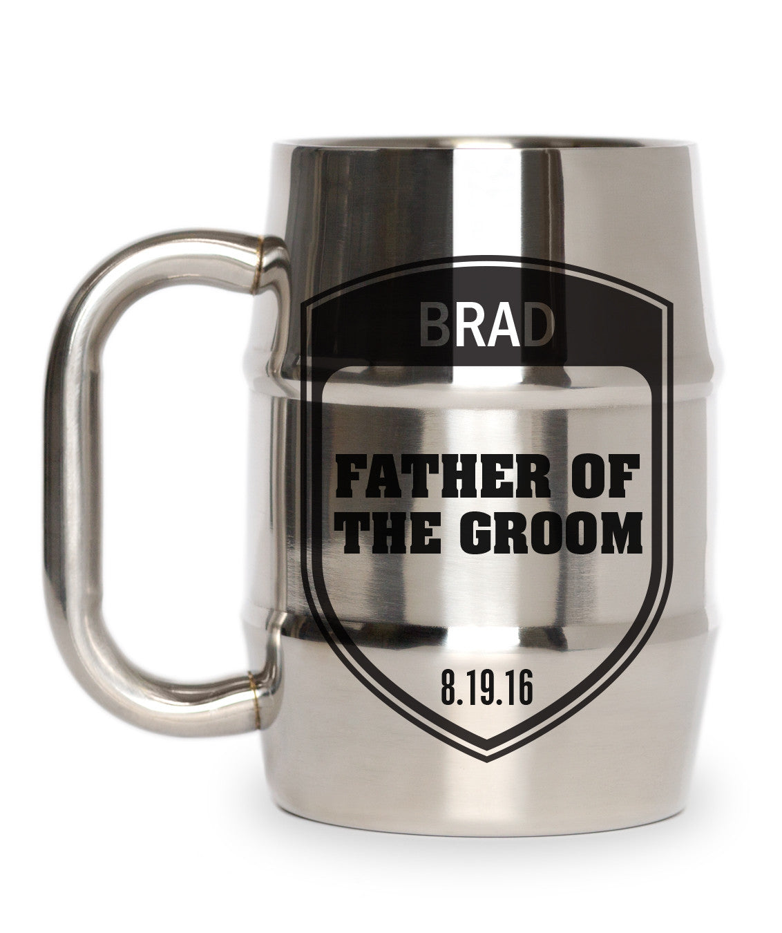 Shield Father Groom