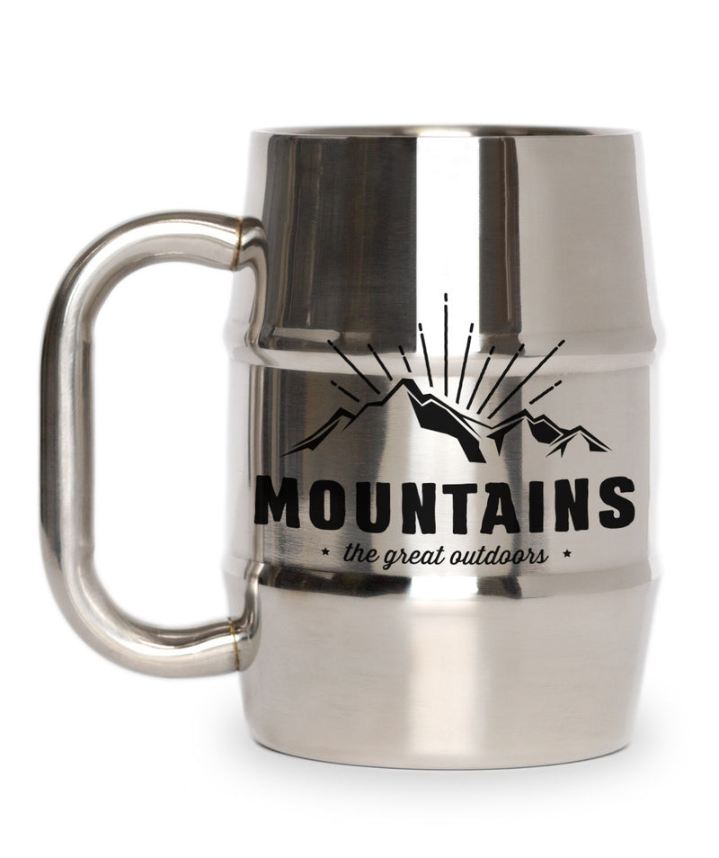 Outdoors Mountains Mug