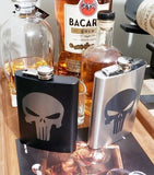 Punisher Stainless Steel hip flask