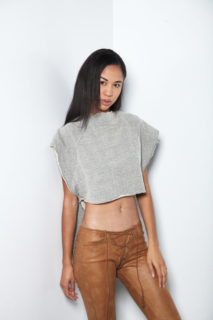 verse crop sweatshirt