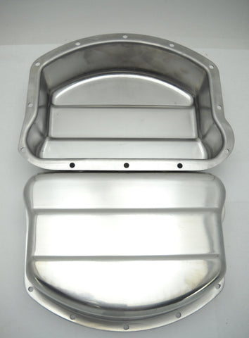 17500-48A PANHEAD STAINLESS STEEL ROCKER COVERS CORRECT FOR 1949-1956 FITS 1948-1965