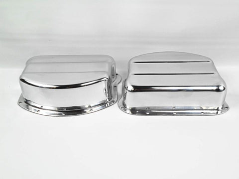 17500-54 PANHEAD ALUMINUM ROCKER COVERS CORRECT FOR 1957-1965