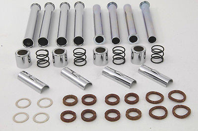 1966 TO EARLY 1979 SHOVELHEAD CHROME PUSHROD KIT