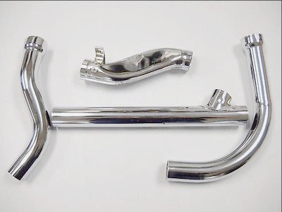 1958-1964 PANHEAD 2-1 CHROME EXHAUST SYSTEM USA MADE