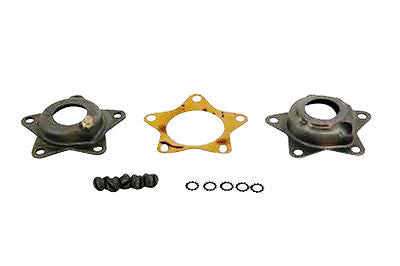 43574-55 Star Hub Bearing Thrust Plate Kit with Late Grease Fitting Parkerized