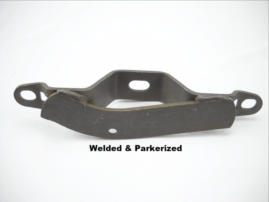 2806-38A 16853-38 1938-1939 KNUCKLEHEAD TOP MOTOR MOUNT WELDED & PARKERIZED