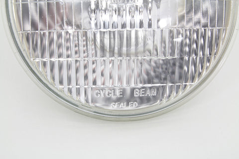 67717-48 Replica Guide Panhead 6-Volt Sealed Beam Headlamp