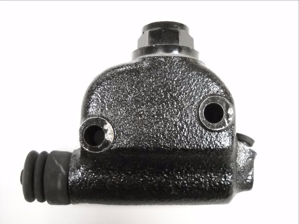 41761-78B SHOVELHEAD REAR DISC BRAKE MASTER CYLINDER BLACK PAINT