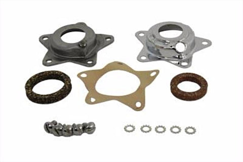 43569-55C Chrome Wheel Hub Bearing Thrust Plate Kit