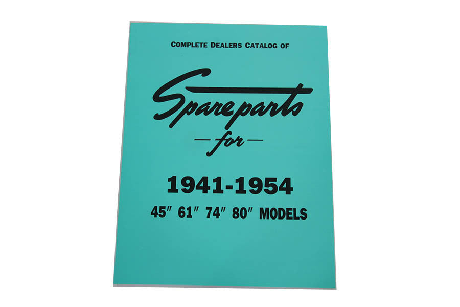 SPARE PARTS BOOK FOR 1941-1954 SIDE VALVE MODELS