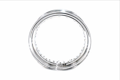 "43085-81 16"" X 3.00"" CHROME 40 HOLE RIM"