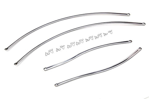 59200-39 Old 3762–39 & 3762–39A & 3762–39A & 3761–39B Stainless Rear Fender Trim