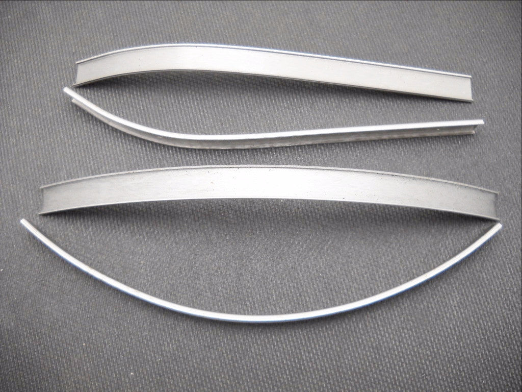 61802-41 1941-1946 KNUCKLEHEAD FLATHEAD TANK TRIM MOUNTING STRIPS USA MADE!