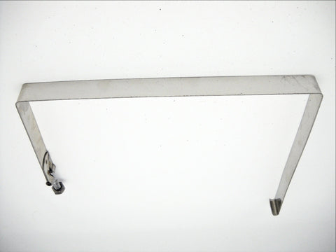 66383-70 STAINLESS STEEL BATTERY STRAP 1970-1984 FL