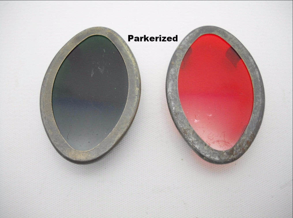 71340-39 & 71341-39 HARLEY DAVIDSON PARKERIZED DASH PANEL WINDOWS REAL QUALITY!