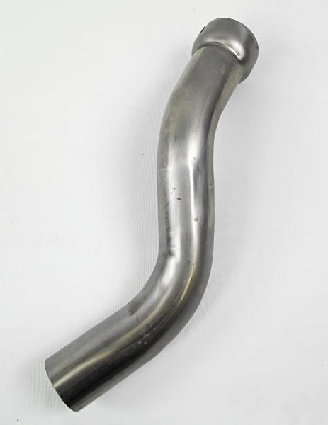 65493-48 Old 1007-48 Panhead Rear Exhaust Pipe Raw USA Made