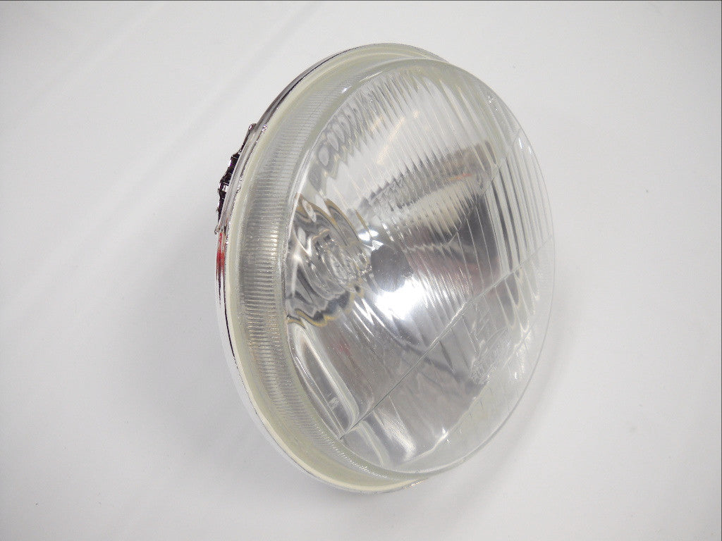 "67698-81B HALOGEN HEADLAMP CONVERSION FOR SHOVELHEAD 12V 5-3/4"" FX HEADLAMPS"