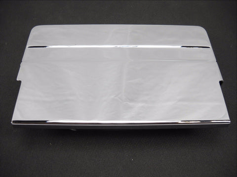 66370-65T CHROME BATTERY TOP COVER 1965-1984 FL