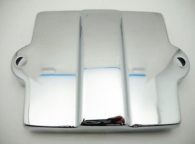 66373-36R KNUCKLEHEAD PANHEAD FLATHEAD STOCK STYLE BATTERY COVER CHROME