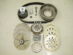 1955-1964 3 & 5 STUD PANHEAD BDL BELT DRIVE AND COMPLETE CLUTCH AND INSTALLATION KIT