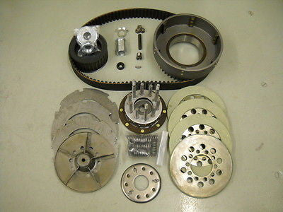 1941-1954 3 Or 5 Stud Complete BDL Belt Drive Kit For Knuckle Flathead Panhead