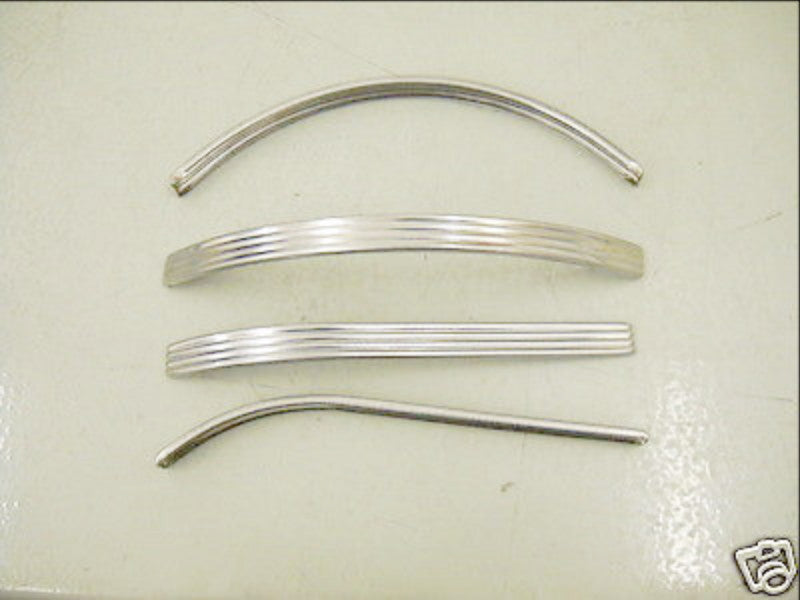 61800-41 KNUCKLEHEAD FLATHEAD 1941-1946 STAINLESS TANK TRIM USA MADE!