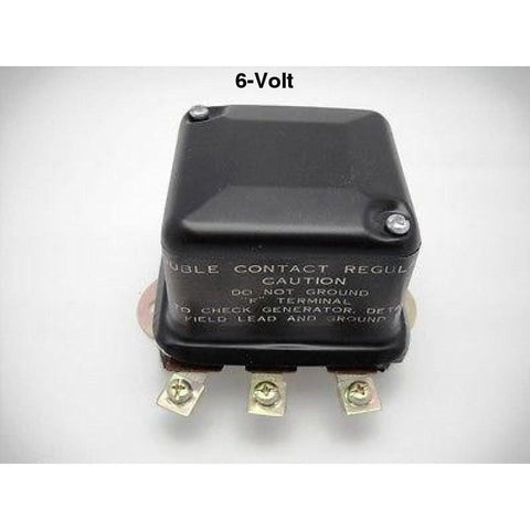 74510-47A  6-V 2-Brush Voltage Regulator