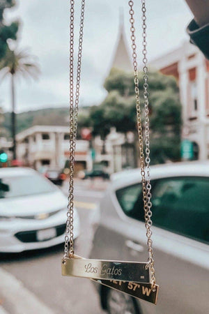 Lat & Lo Coordinate Necklaces