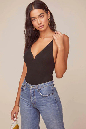 ASTR The Label Infinity Cross Back Bodysuit