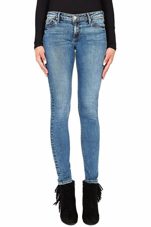 Black Orchid Jude Mid Rise Skinny in Heart of Gold