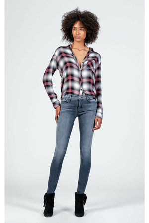 Black Orchid Jude Mid Rise Skinny in Imperfection
