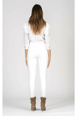 Black Orchid Gisele High Rise Skinny - Snow White