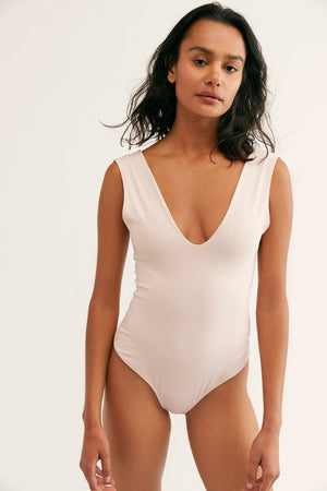 Free People Keep It Sleek Bodysuit