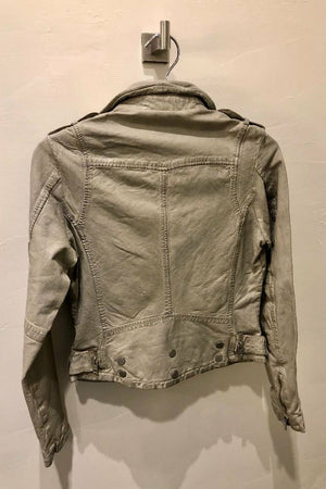 Mauritius Wild Belted Bottom Jacket - Stone