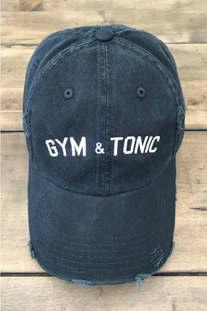Gym & Tonic Hat in Black
